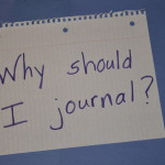 Why should I journal