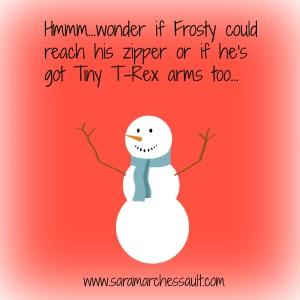 Frosty T-Rex
