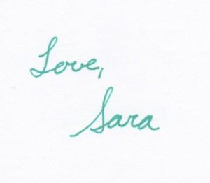 Love, Sara